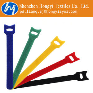 Multicolor Reusable Hook & Loop Tape Cable Ties pictures & photos