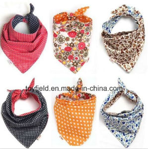 Pet Scarf Cat Collar Cotton Printed Dog Bandana pictures & photos