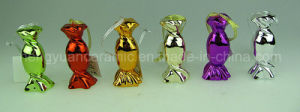 Electroplating Small Candy Hanging Decoration Ceramic pictures & photos