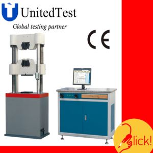 Universal Testing Machine (WEW-B Series PC Screen Display Manual Hydraulic) pictures & photos