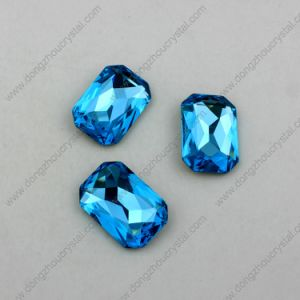 High Quality Crystal Jewelry Octagon Stones Necklace Components Manufacture pictures & photos