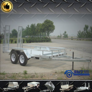 Special Customized Twin Axle Trailer Checker Plate pictures & photos