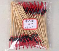 Whosale BBQ Teal/Cyan/Indigo Gun-Shaped Bamboo Sticks&Skewers pictures & photos