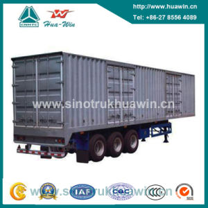 60 Ton 3 Axle Van Semi Trailer pictures & photos