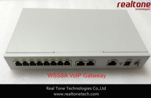 VoIP/SIP Gateway with 4FXS+4FXO Ports (WSS8-4S/4O)