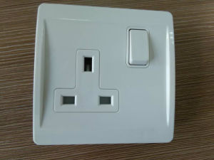 13A Electrical Switch Socket with PC Material