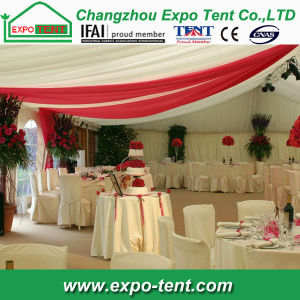 Clear Roof Wedding Tent PVC Transparent Fabric Decorated pictures & photos