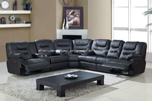 Living Room Products Leather Sectional Recliner Sofa L Shape Sofas