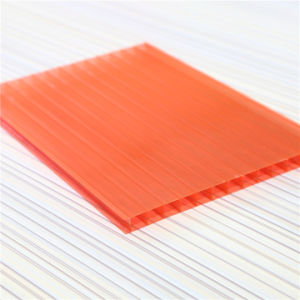 3mm Twin Wall Polycarbonate Roofing Sheet