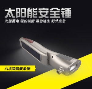 Multifuntional Solar Emergency LED Flashlight pictures & photos