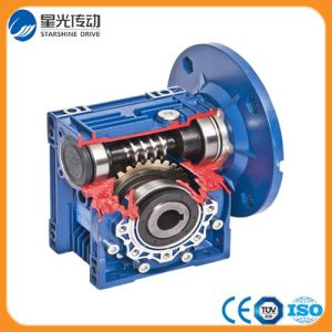 Right Angle Die Cast Aluminum Nmrv30 Worm Gearbox pictures & photos