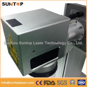 Brass Laser Engraving Machine/Logo Laser Marking Machine for Brass pictures & photos
