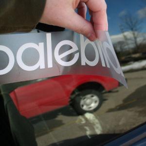 Custom Transpa Cut Vinyl Transfer Decal Window Car Stickers