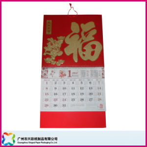Customized Promotion Gift Advertising Wall Hang Calendar (XC-8-005) pictures & photos