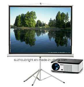 120 Inch Tripod Projector Screen Tripod Projection Screen
