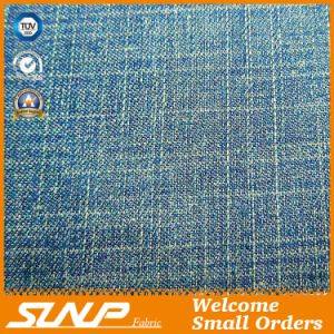 Cotton and Polyester Slub Denim Fabric for Blouse