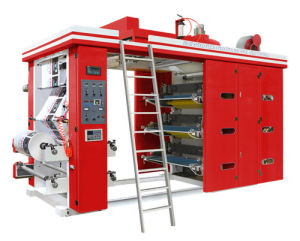 Stacked Type High Speed Six Colors Flexo Printing Machine