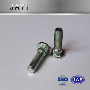 Pressing Rivet Screw, Straight Knurling, Zinc Plated, M5 Machine Screw pictures & photos