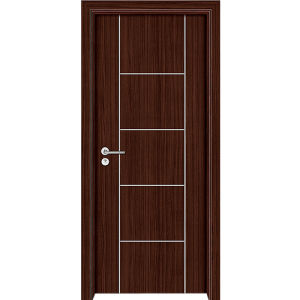 China Panel Interior PVC MDF Doors MP China White MDF - Pvc bathroom doors