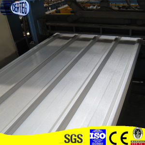 Trapezoid Corrugated Galvalume Steel Roof Sheet (YX28-207-828) pictures & photos