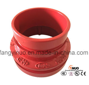 FM/UL Listed Pipe Fittings Ductile Iron 300psi Grooved/Threaded Reducer pictures & photos