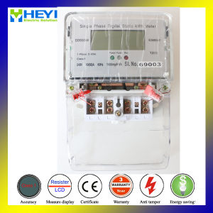 Digital Watt Meter Single Phase Two Wire CE Type pictures & photos