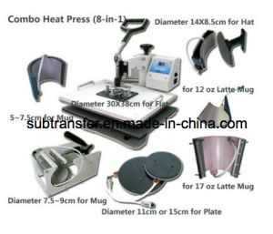 Best Quality Combo Heat Press 8 in 1