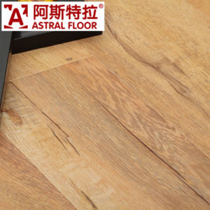 12mm CE Approved Handscraped Surface Laminate Flooring (AS0007-1) pictures & photos