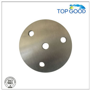 Stainless Steel Round Plate with 4 Small Holes