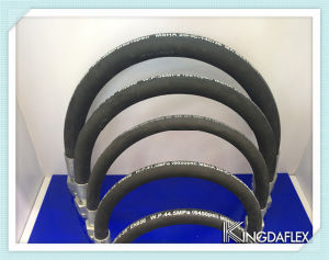 High Quality High Temperature Flexible Hydraulic Rubber Hose Assembly pictures & photos