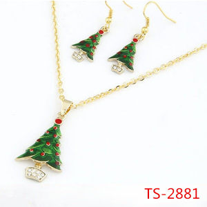 Fashion Jewelry Bib Christmas Gifts Necklace Earrings