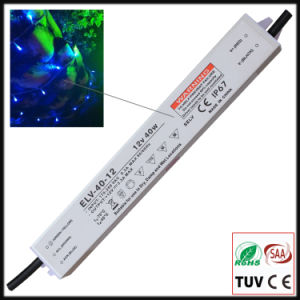 40W Constant Voltage Waterproof IP67 LED Transformer with Ce/RoHS pictures & photos