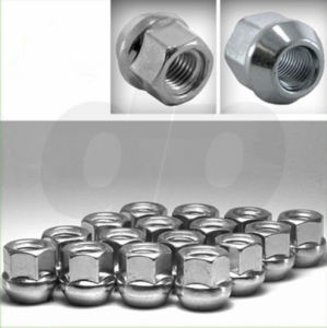 Open-End Bulge Acorn Wheel/Lug Nuts, Cone Seat, M12X1.25, 19mm Hex, Qty 20 pictures & photos