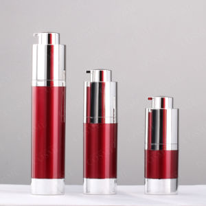 50ml Plastic Luxurious Cosmetic Bottle with Airless Pump