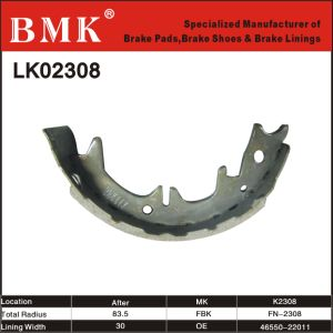 Environment Friendly Brake Shoe (K2308) pictures & photos