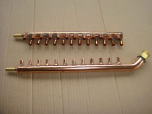 Hot Sale Copper Pipe Header for Air Conditioner