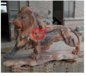 Stone Lion Carving (SLC-03)
