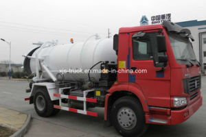HOWO Truck /Suction -Type Sewer Scavenger (JYJ5120GXW) pictures & photos