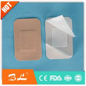 Blue Elastic Fabric Wound Bandage for Food Industry (BL-007) pictures & photos