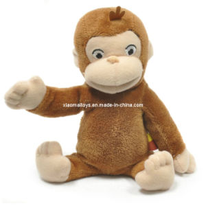 Electric Sitting Soft Monkey Promotion Toy (JQ-1243)