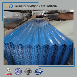 Blue Corrugated Roofing Steel Sheet for Building Material pictures & photos