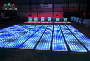 LED Stage Lighting Full Color Wedding Party LED Digital Dance Floor pictures & photos