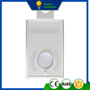 8W All in One LED Panel Solar Street Light