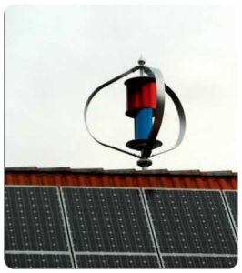 Home Use 300W Wind Turbine and Solar Panel Hybrid System pictures & photos