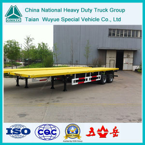 2 Axle Flatbed Container-Simi Trailer