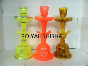 Al Fakher Tobacco Hookah Glass Hookah with LED pictures & photos