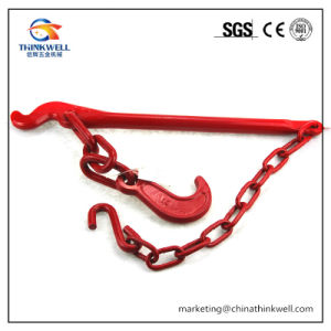 Forged Color Painted Tension Lever Load Binder with Chain pictures & photos