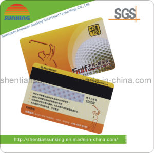Consumer Magnetic Stripe Promotion Card for Event