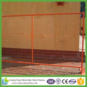 Job Site Fence Panel Temporary 6′ H X 10′ L