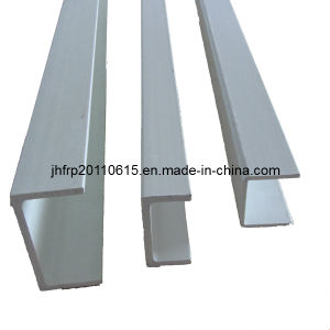 Grey Aluminium Color Anti-Corrosion Resistant FRP Profile Channel pictures & photos